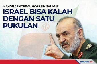 Mayjen Hossein Salami: Israel Bisa Kalah dengan Satu Pukulan