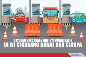 Dirlantas Polda Metro Pantau Penyekatan Mudik di Cikarang Barat