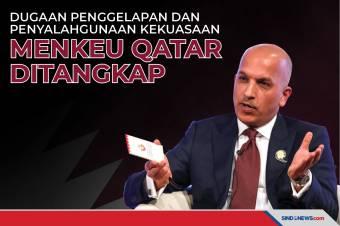 Dugaan Penggelapan, Menteri Keuangan Qatar Ditangkap