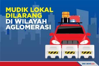 Mudik Lokal Dilarang, Bodetabek Tak Bisa Dikunjungi Warga Jakarta