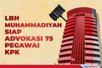 Lembaga Bantuan Hukum Muhammadiyah Siap Advokasi 75 Pegawai KPK