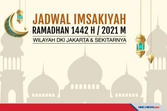 Jadwal Imsakiyah 8 Mei untuk Wilayah Jakarta dan Sekitarnya