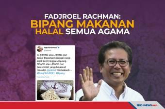 Fadjroel Rachman Sebut Bipang Makanan Halal Semua Agama