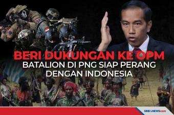 Dukung OPM, Batalion di PNG Siap Perang dengan Indonesia