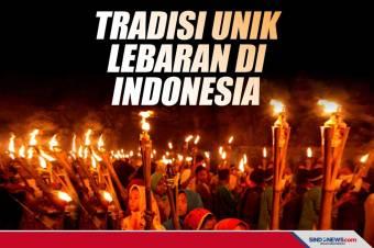 Ini Enam Tradisi Unik Lebaran yang ada di Indonesia