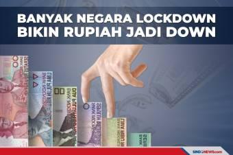 Banyak Negara Lockdown Bikin Rupiah jadi Down