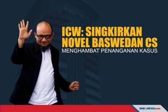 ICW: Singkirkan Novel Baswedan Cs, Menghambat Penanganan Kasus
