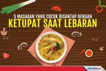 5 Masakan Khas Indonesia Teman Makan Ketupat Lebaran