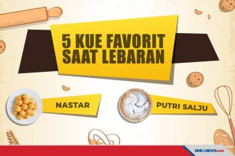 5 Kue Kering Paling Populer Saat Lebaran, Mana Favoritmu?