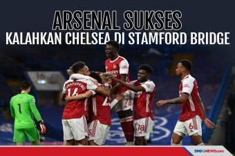 Arsenal Sukses Kalahkan Chelsea di Stamford Bridge