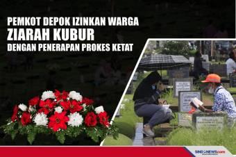 Pemkot Depok Izinkan Warga Ziarah Kubur dengan Penerapan Prokes