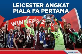 Leicester City Sukses Angkat Piala FA untuk Pertama Kali