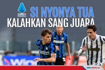 Kalahkan Inter Milan, Juventus Kembali ke Zona Liga Champions