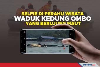 Selfie di Perahu Wisata Waduk Kedung Ombo yang Berujung Maut