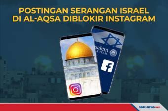 Instagram Memblokir Postingan Serangan Israel di Al-Aqsa