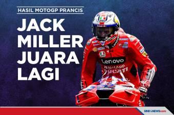 Hasil MotoGP Prancis 2021: Jack Miller Menang Lagi