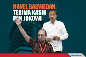 Novel Baswedan: Pidato Presiden Jokowi Telah Membebaskan Kami