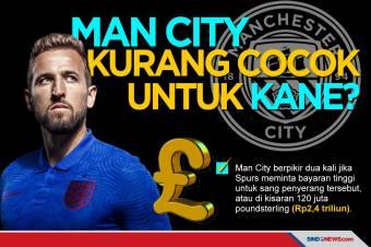 Ingin Raih Trofi, Harry Kane Kurang Cocok Bermain untuk Man City
