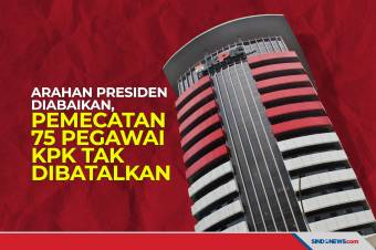 Arahan Presiden Diabaikan, Pemecatan 75 Pegawai KPK Tak Dibatalkan