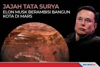 Jajah Tata Surya, Elon Musk Berambisi Bangun Kota di Mars