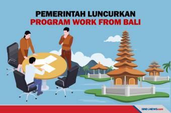 7 Kementerian/Lembaga Dikerahkan untuk Gerakan Work From Bali