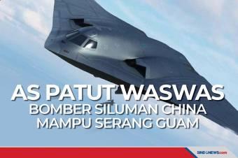 AS Patut Waswas, Bomber Siluman China Mampu Serang Guam