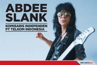 Abdee Slank Jabat Komisaris Independen Telkom Indonesia