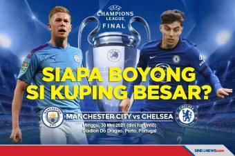 Final Liga Champions, Siapa Boyong Si Kuping Besar?