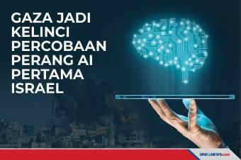Gaza Jadi Kelinci Percobaan Perang AI Pertama Israel