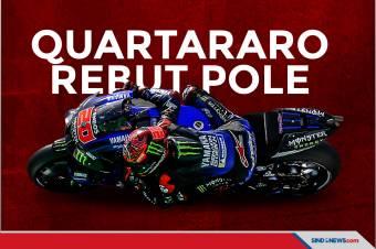 Quartararo Rebut Pole di Kualifikasi MotoGP Italia 2021
