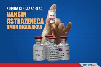 Komda KIPI Jakarta: Vaksin AstraZeneca Aman untuk Digunakan