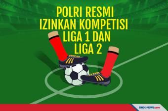 Polri Izinkan Bergulirnya Kompetisi Liga 1 dan Liga 2 2021/2022