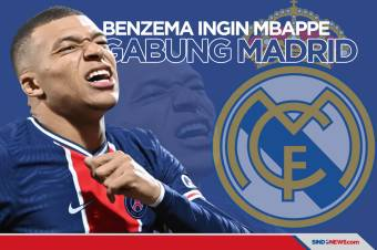 Karim Benzema Ingin Kylian Mbappe Gabung Real Madrid