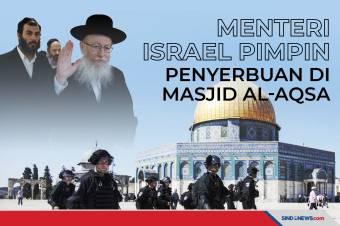 Menteri Israel, Pimpin Penyerbuan Warga Yahudi di Masjid Al-Aqsa