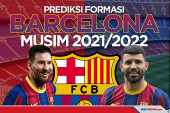 Aguero Resmi Bergabung, Begini Formasi Barcelona Musim 2021/2021