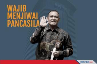 Ketua KPK Firli Bahuri Minta Pegawai Wajib Jiwai Pancasila