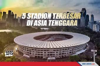 5 Stadion Sepak Bola Terbesar di Asia Tenggara Versi AFC