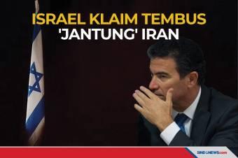 Israel Mengklaim Berhasil Menembus 'Jantung' Milik Iran