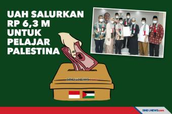 Melalui BAZNAS, UAH Salurkan Rp 6,3 M untuk Pelajar Palestina