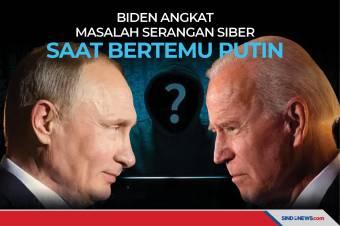 Biden Angkat Masalah Serangan Siber saat Bertemu Putin