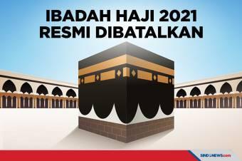 Pemerintah Resmi Batalkan Pemberangkatan Haji 2021