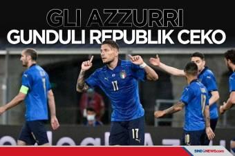 Uji Coba Jelang Piala Eropa 2020: Italia Sukses Gunduli Rep Ceko