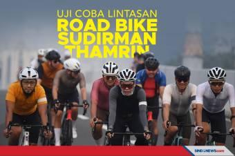 Uji Coba Jalur Road Bike di Sudirman-Thamrin Dimulai Senin Besok