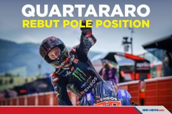 Quartararo Rebut Pole Position di MotoGP Catalunya 2021