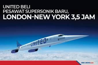 United Beli Pesawat Supersonik Baru, London-New York 3,5 Jam