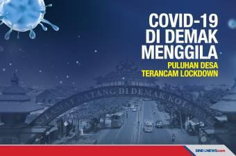 COVID-19 di Demak Menggila, Puluhan Desa Terancam Lockdown