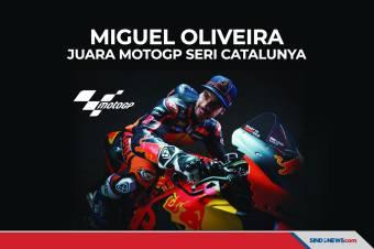 Hasil MotoGP Catalunya, Miguel Oliveira Berhasil Raih Podium
