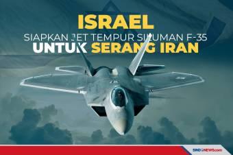 Jet-jet Tempur Siluman F-35 Israel Siap untuk Serang Iran