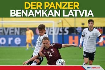 Uji Coba Jelang Piala Eropa 2020: Der Panzer Benamkan Latvia