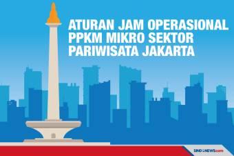 DKI PPKM Mikro, Ini Aturan Jam Operasional Sektor Pariwisata